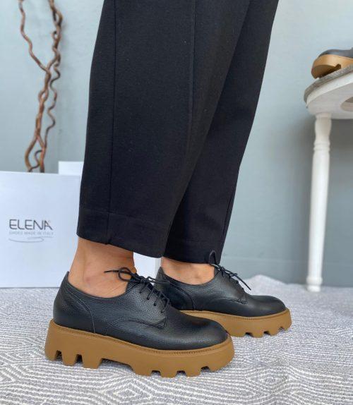 Scarpe donna Made in Italy pelle nera